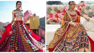Multi-colored Lehengas that We Can't Take Our Eyes Off!