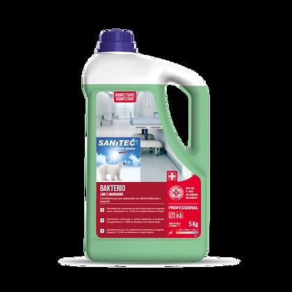 Bakterio Lime e Mandarino Disinfettante 5L - Sanitec