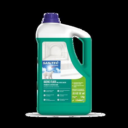 Detergente Pavimenti Mela Verde e Bacche 5L - Sanitec