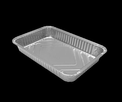 Vaschetta alluminio 6 porzioni - 100 Pz