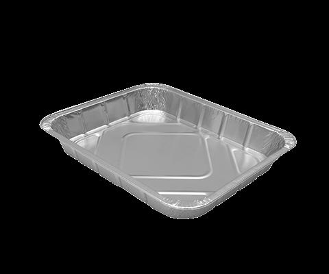 Vaschetta alluminio 8 porzioni - 50 Pz