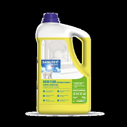 Detergente Pavimenti Fiori d'Arancio e Bergamotto 5L - Sanitec