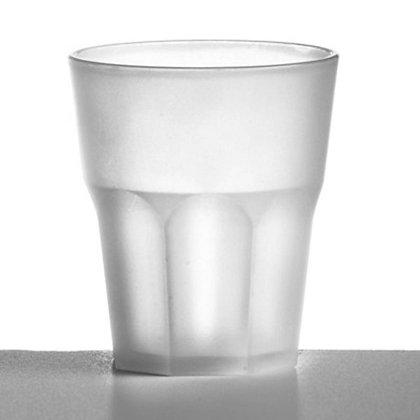 Bicchiere Policarbonato Satinato Lavabile 200ml 10 Pz