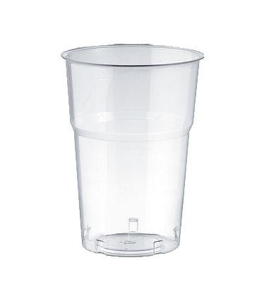 Bicchieri Kristal in Plastica Trasparente - 205cc - 1000 Pz