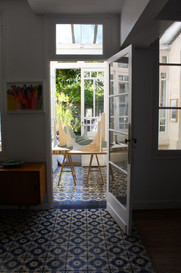 Diffractis # 5 exhibition - Garden by Claire Gillot, landscape architect, Sept 2020.