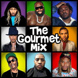 The Gourmet Mix - Front Cover