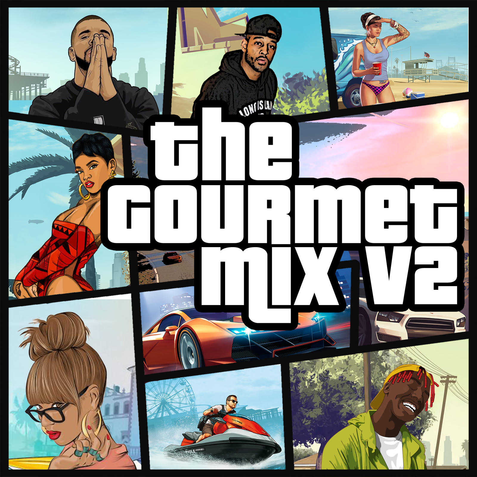 Gourmet Mix V2 Front Cover