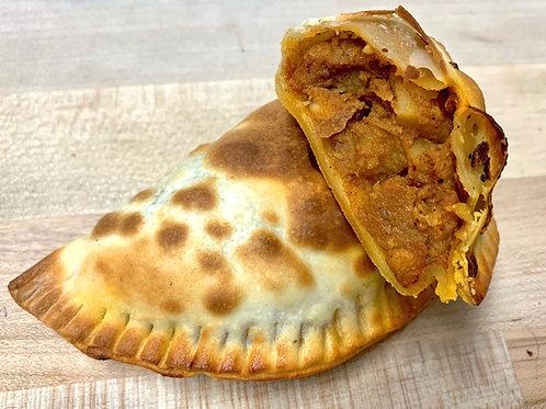 Chicken Curry Empanada (270 Cal)
