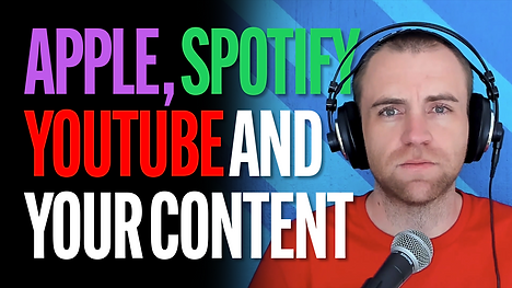 Apple Spotify YouTube Content