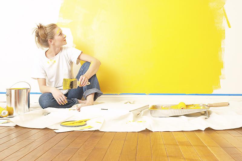 acabados tonos amarillos