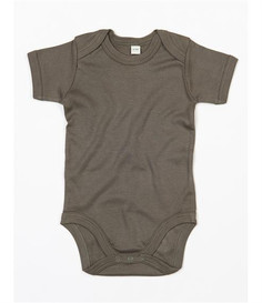 Camo body The green camo short-sleeve body is a staple for any baby wardrobe. Can bepairedwith anything in theBjörkBox for an outfit. The envelope neckline will give a comfortablefit over the shoulders.