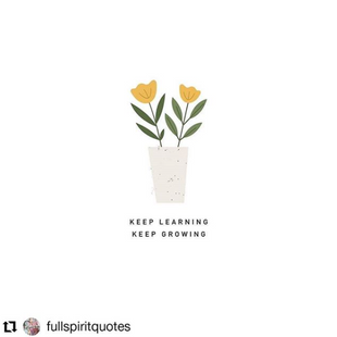 Keep Learning, Keep Growing