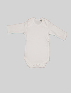 Long-sleeve body This simple onesie is a daily staple perfect for the winter. With popper fastening it is easy to put on and take off, and the envelope necklineoffers extra room around the shoulders. Can be paired with the sweaterand accessories BjörkBoxfor a simple outfit