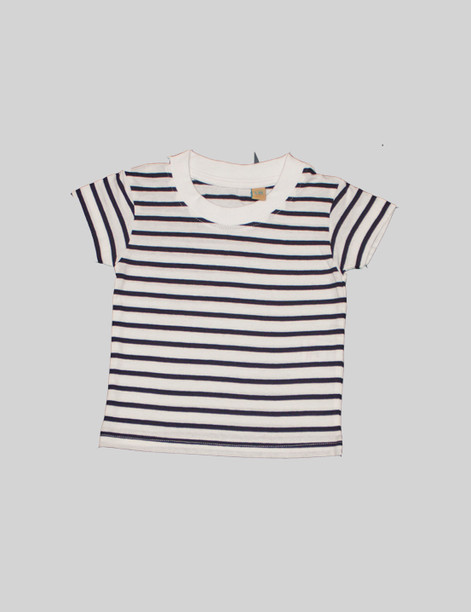 Striped t-shirt The striped t-shirt is great pattern to bring variety to theBjörkBox. Can be paired with leggings or the pyjama trousers for a simple outfit.