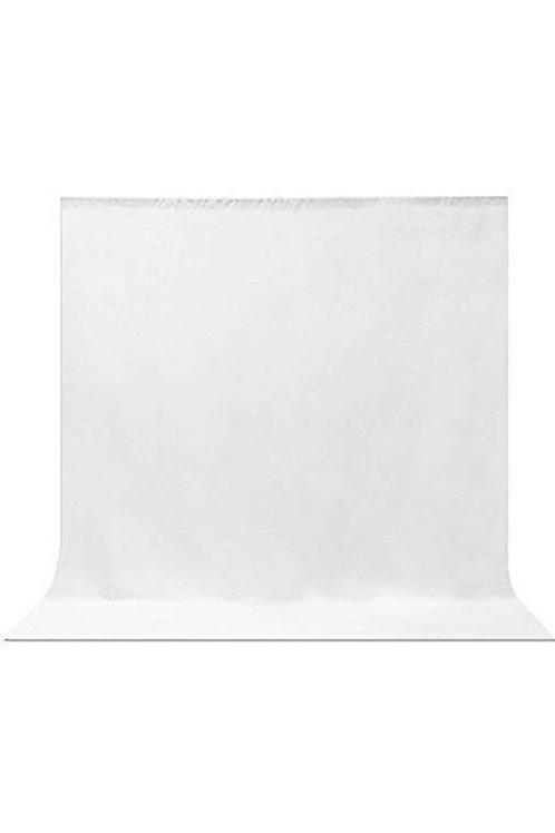 White Photo Backdrop (6'x9')