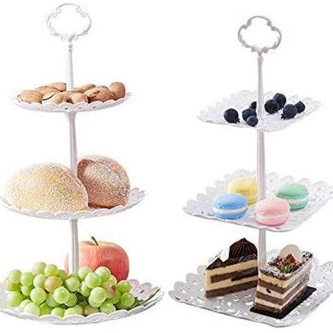 Small White Dessert Tray