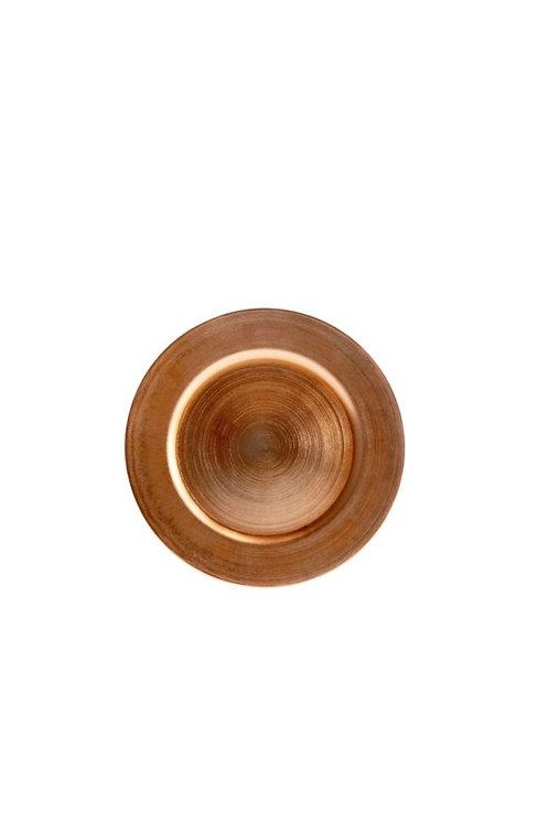 "Regency Copper Charger (13"")"