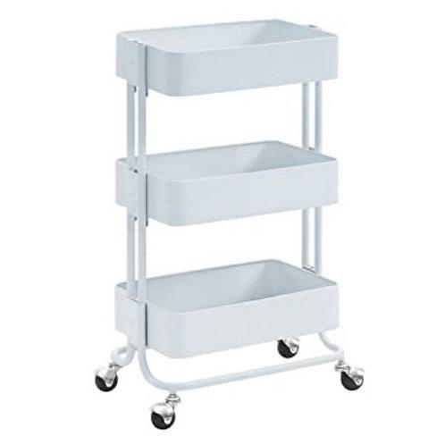 Tulsi Serving Cart (White)