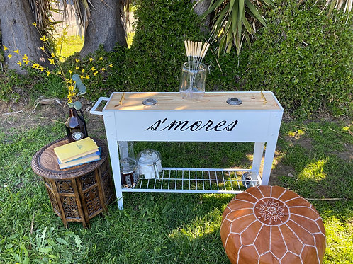 S'mores Cart with 2 Burners