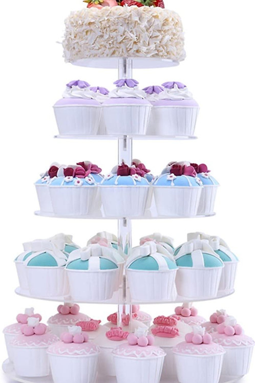 Acrylic Cup Cake Stand
