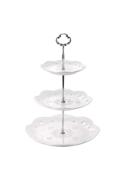 Elegant 3-Tier Dessert Stand