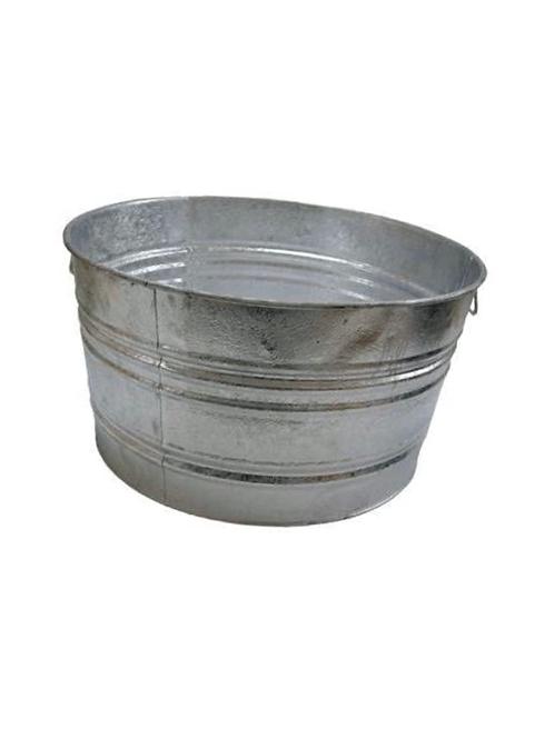 15 Gallon Galvanized Beverage Tub/Bucket