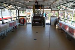 Open dancing or buffet serving area
