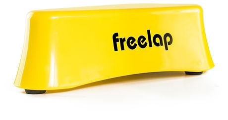 Freelap Ski timing equipment yellow dish