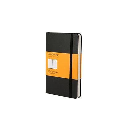 Classic Black Pocket Ruled A6