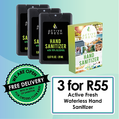 Active Fresh Hand Santizer
