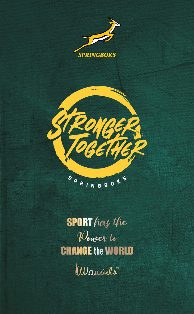 Springboks Mandela Rainbow Eco Journal F