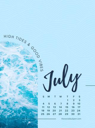 thesocialbullpen.com-July-Good-Vibes-Ocean-Waves-Wallpaper-iPad-Tablet.png