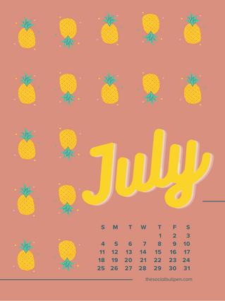 thesocialbullpen.com-July-Pink-Pineapples-Wallpaper-iPad-Tablet.png