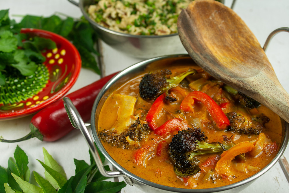 Broccoli and Pepper Curry | Vegan Curry | Vegetable Curry | The Dopey Vegan