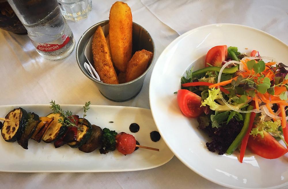 Rossini   Where I ate in Barcelona - week 1   Vegan and Gluten Free Restaurant review   Barcelona Restaurant review   Vegan Barcelona   The Dopey Vegan
