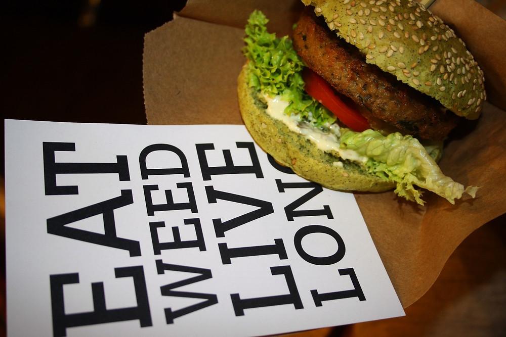 The Dutch Weed Burger | | Veggie World London Review | Vegan and Gluten Free Recipe | The Dopey Vegan