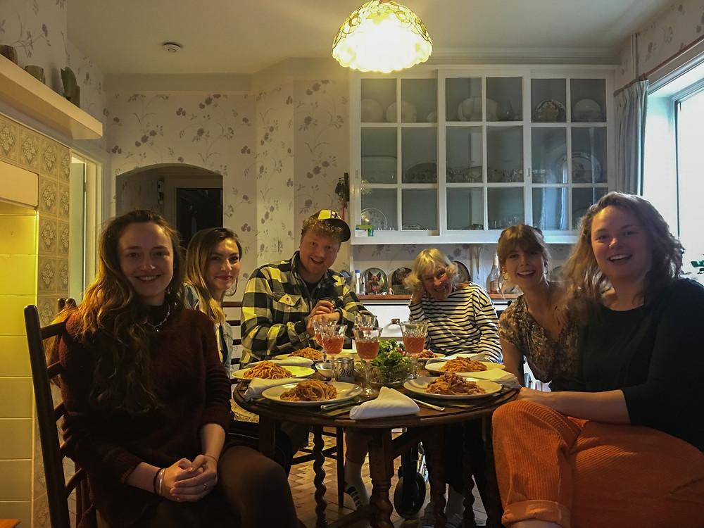 Family Affair | Vegan Spaghetti alla Puttanesca | Vegan and Gluten Free Recipe | The Dopey Vegan
