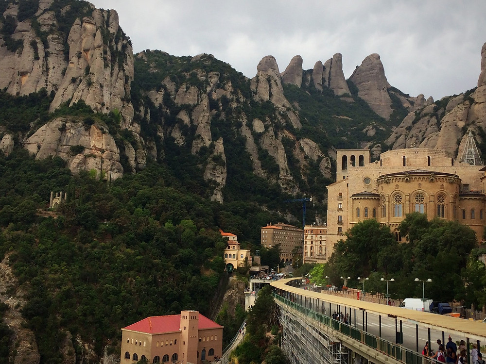 Montserrat Monastery    Vegan and gluten free   restaurant review   Barcelona   The Dopey Vegan