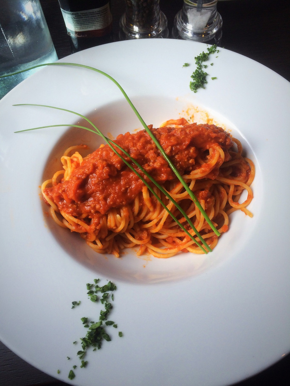 Tagliatelle al ragù | Fed by Water Review | Vegan Italian restaurant | The Dopey Vegan