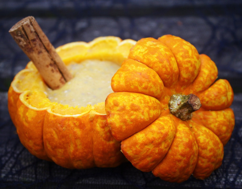 Munchkin Pumpkin Chia Pudding