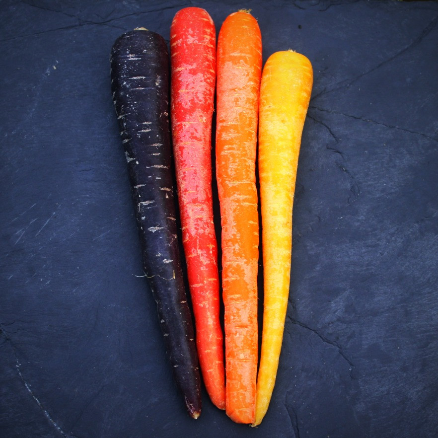 Colourful carrots | One Tray Maple Roast | Vegan and Gluten Free Recipe | The Dopey Vegan