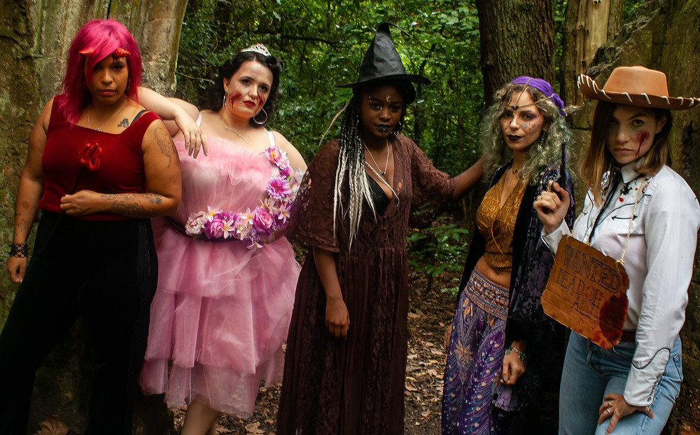 All the ethical Halloween looks | Ethical Halloween | Ethical and sustainable fashion | Ethical and sustainable fancy dress | The Dopey vegan x The Revival Collective