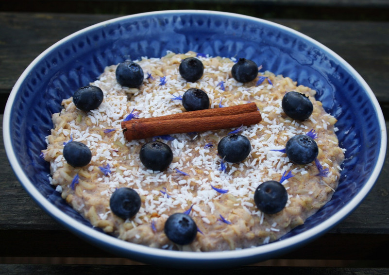 Spiced Brown Rice Pudding
