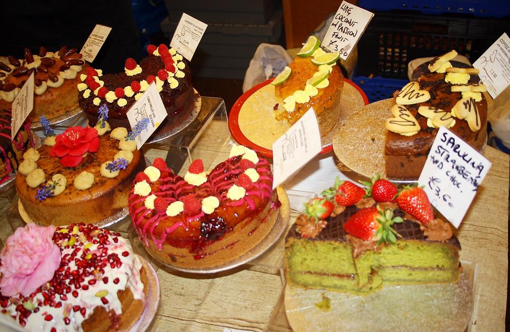 Cakes at Veggie World London | | Veggie World London Review | Vegan and Gluten Free Recipe | The Dopey Vegan