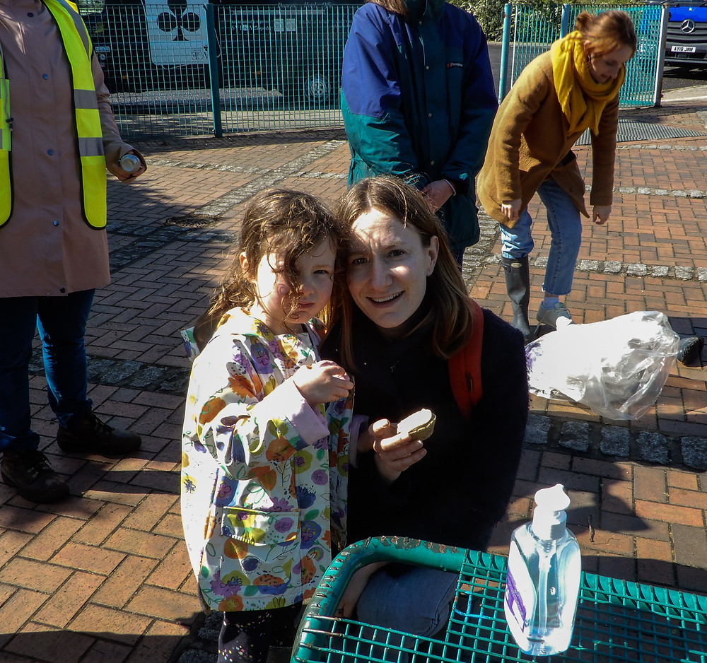 More cake and volunteers  | The River Pool Spring Clean | Great British Spring Clean | Litter Picking | Rhubarb and Custard Cupcakes | Vegan and Gluten Free Recipe | The Dopey Vegan