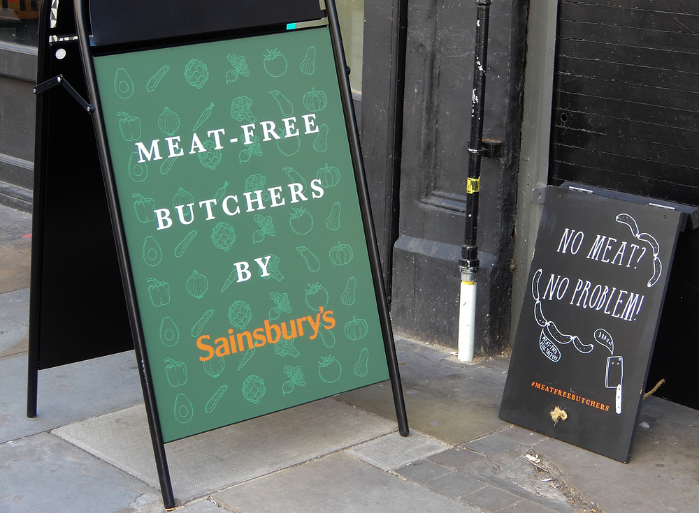 The Signs | The Meat-Free Butchers by Sainsbury's | Meat-Free Options | Vegan Butchers | Vegan Meat | The Dopey Vegan