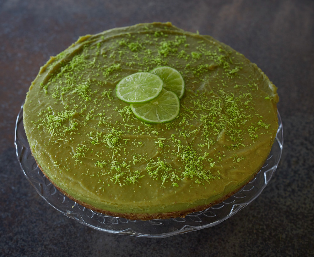 Raw Key Lime Pie | Vegan and Gluten Free Recipe | The Dopey Vegan