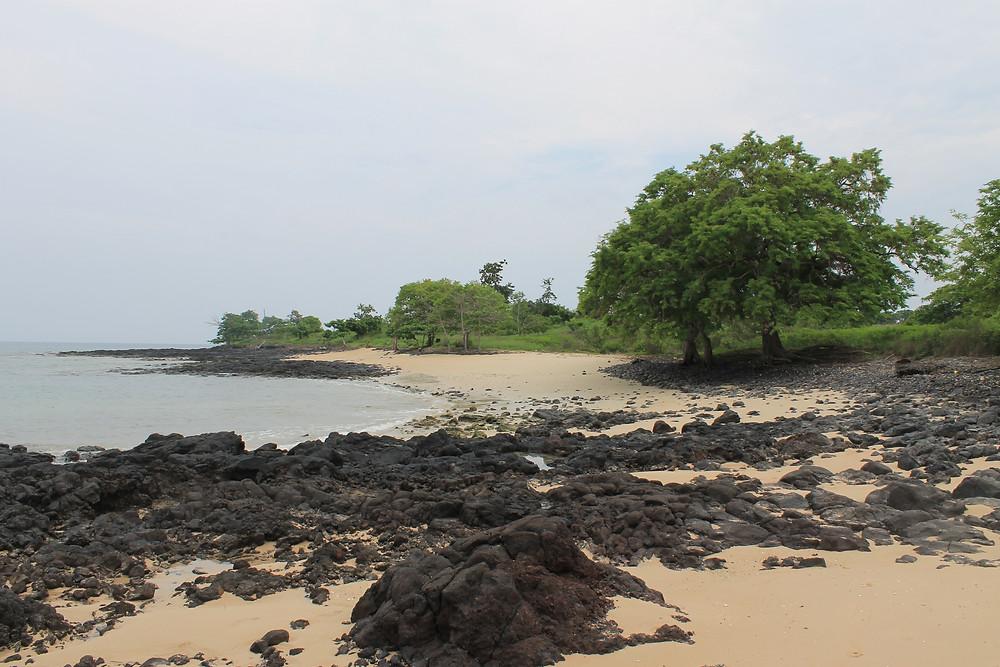 Beaches in Sao Tome and Principe  | Fairtrade Fortnight: Chocolate and Raspberry Banana Split | Vegan and gluten free Recipe | The Dopey Vegan