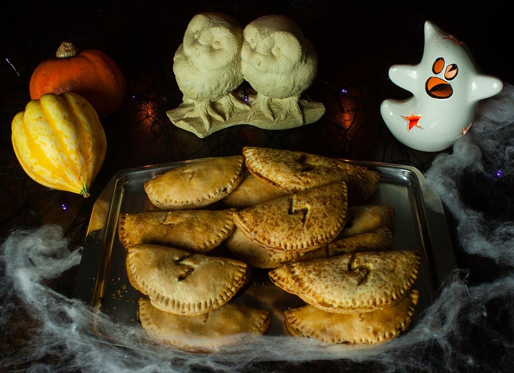 Pumpkin Pasties | Pumpkin Pasty | Vegan and gluten free recipe | The Dopey Vegan