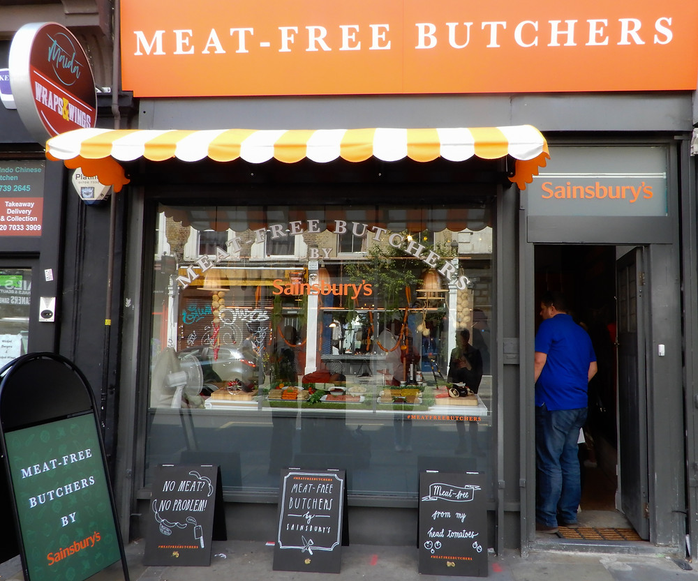 The Storefront | The Meat-Free Butchers by Sainsbury's | Meat-Free Options | Vegan Butchers | Vegan Meat | The Dopey Vegan